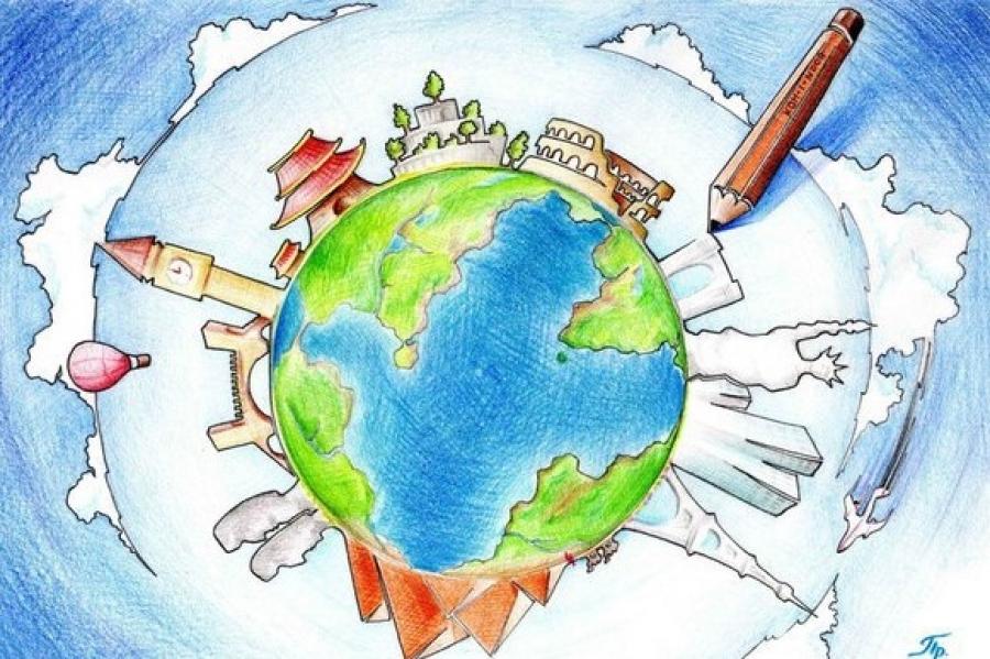 Нарисовать картинку мир вокруг нас
